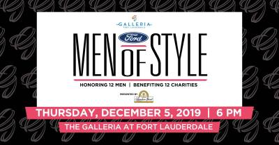 The Galleria's South Florida Ford Men of Style 2019